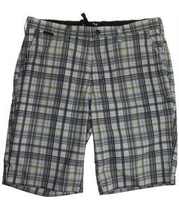 Fox Hydroessex Plaid Shorts Heather Grey