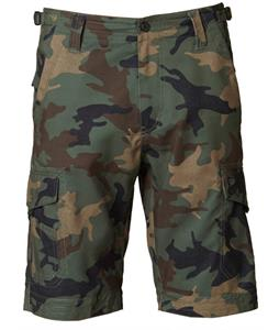 Fox Hydroslambozo Camo Shorts Green Camo