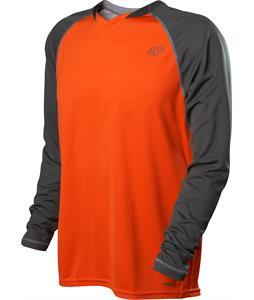 Fox Indicator L/S Bike Jersey Orange