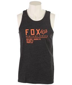 Fox Lifer Tank Top Heather Black