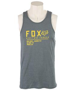 Fox Lifer Tank Top Heather Slate