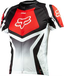 Fox Livewire Race Bike Jersey Red