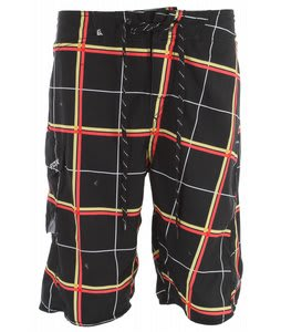 Fox Lloyd Plaid Boardshorts Black