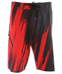 Fox Powerband Bede Durbidge Signature Boardshorts Flame Red