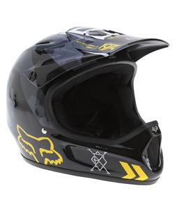 Fox Rampage Bike Helmet Black/Yellow