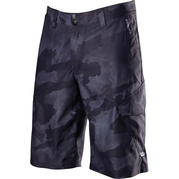 Fox Ranger Cargo Prints Bike Shorts Black Camo