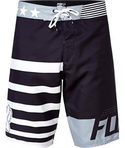 Fox Red White And True Boardshorts