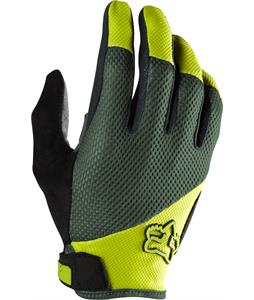 Fox Reflex Gel Bike Gloves Fatigue Green