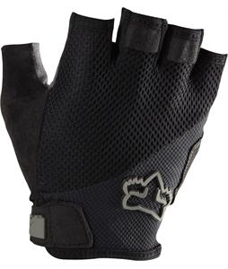 Fox Reflex Gel Short Bike Gloves Black