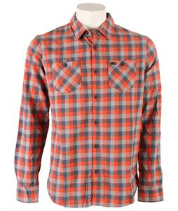 Fox Robertson Shirt Atomic Orange