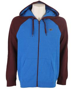 Fox Skewel Hoodie Heather Blue