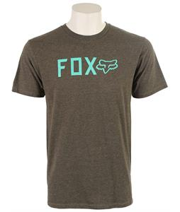 Fox Shockbolted T-Shirt Heather Dark Fatigue