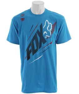 Fox Shock Point T-Shirt Electric Blue
