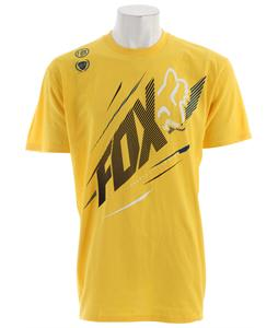 Fox Shock Point T-Shirt Yellow