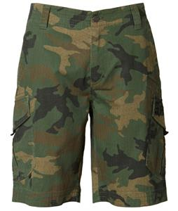 Fox Slambozo Camo Shorts Green Camo