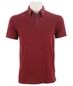 Fox Suspect Polo Shirt Burgandy