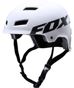 Fox Transition Hard Shell Bike Helmet Matte White