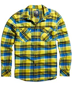 Fox Trent Flannel Blazing Yellow