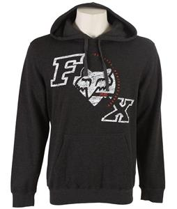 Fox Triple Grip Hoodie Heather Black