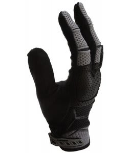 Fox Unabomber Bike Gloves Graphite