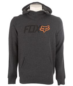 Fox Warmup Pullover Hoodie Heather Black