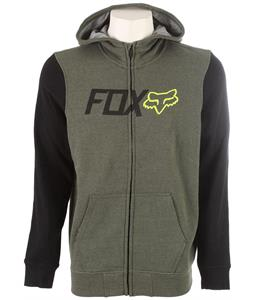 Fox Warmup Zip Hoodie Heather Fatigue
