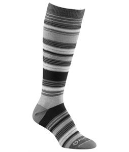 Fox River Simply Stripe Socks Charcoal