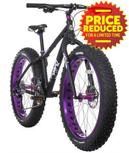 Framed Minnesota 2.0 Fat Bike Black/Purple