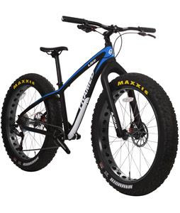 Framed Alaskan Alloy Fat Bike w/ Carbon Fork Blue/Black