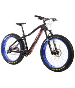 Framed Alaskan Carbon X7 Fat Bike w/ Bluto Fork Black/Blue