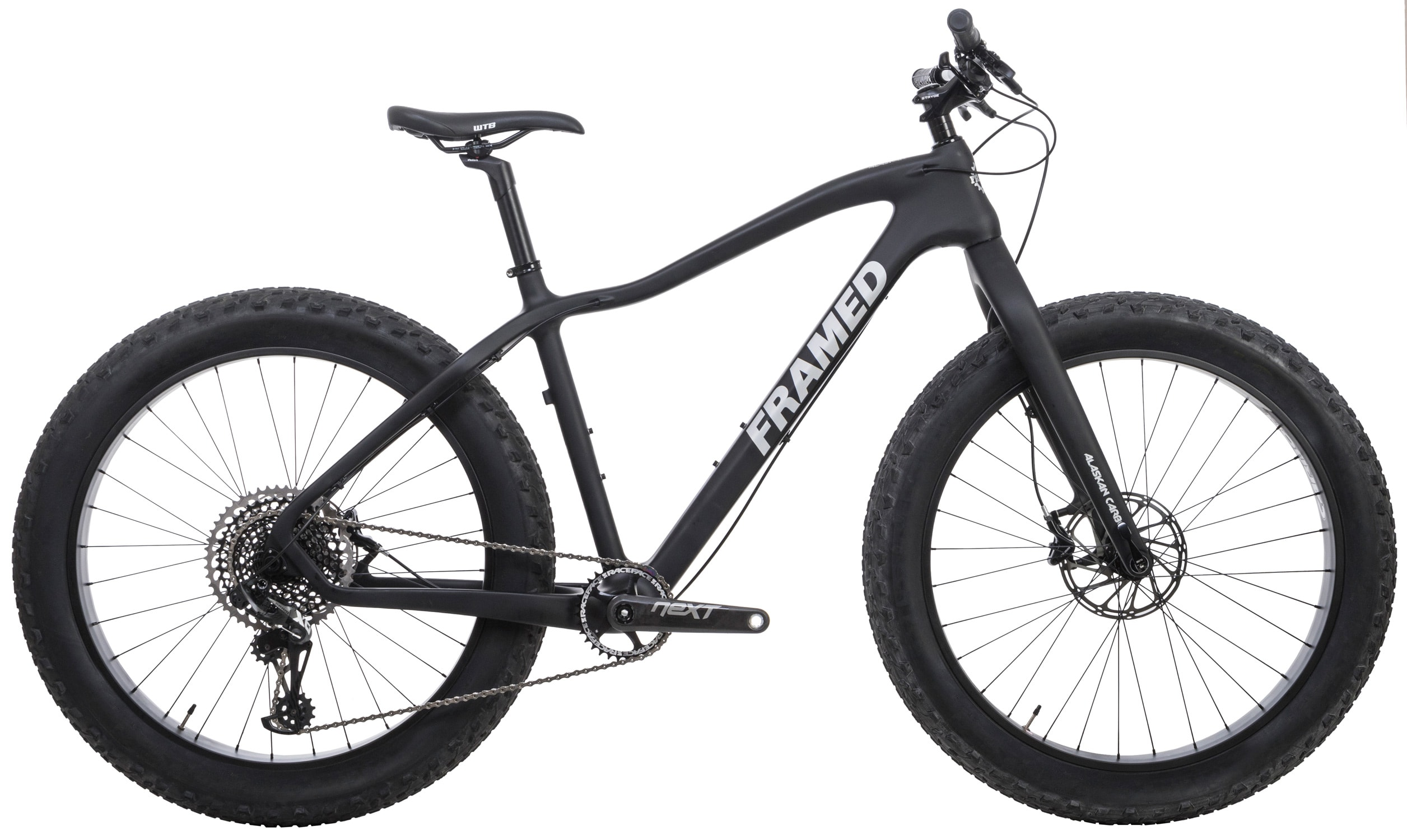 Framed Alaskan Carbon Fat Bike X01 Eagle 1x12 Ltd Carbon