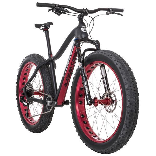 Framed Alaskan Carbon X01 Eagle 1X12 LTD Fat Bike w/ Bluto Fork