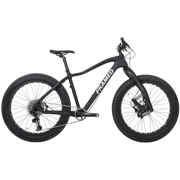 Framed Alaskan Carbon Fat Bike - X01 Eagle 1X12 LTD Lauf Fork & Alloy Wheels