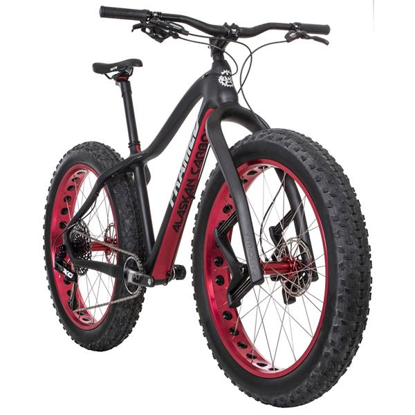Framed Alaskan Carbon X01 Eagle 1X12 LTD Fat Bike w/ Lauf Fork