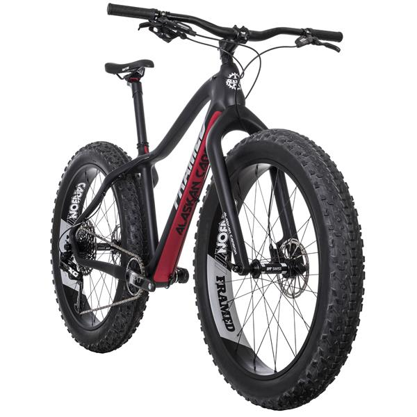 Framed Alaskan Carbon X01 Eagle 1X12 LTD Fat Bike w/ Carbon Fork & Carbon Wheels