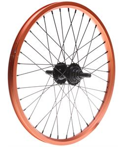 Framed Attack LTD Rear Double Wall 9T BMX Wheel Orange 14mm