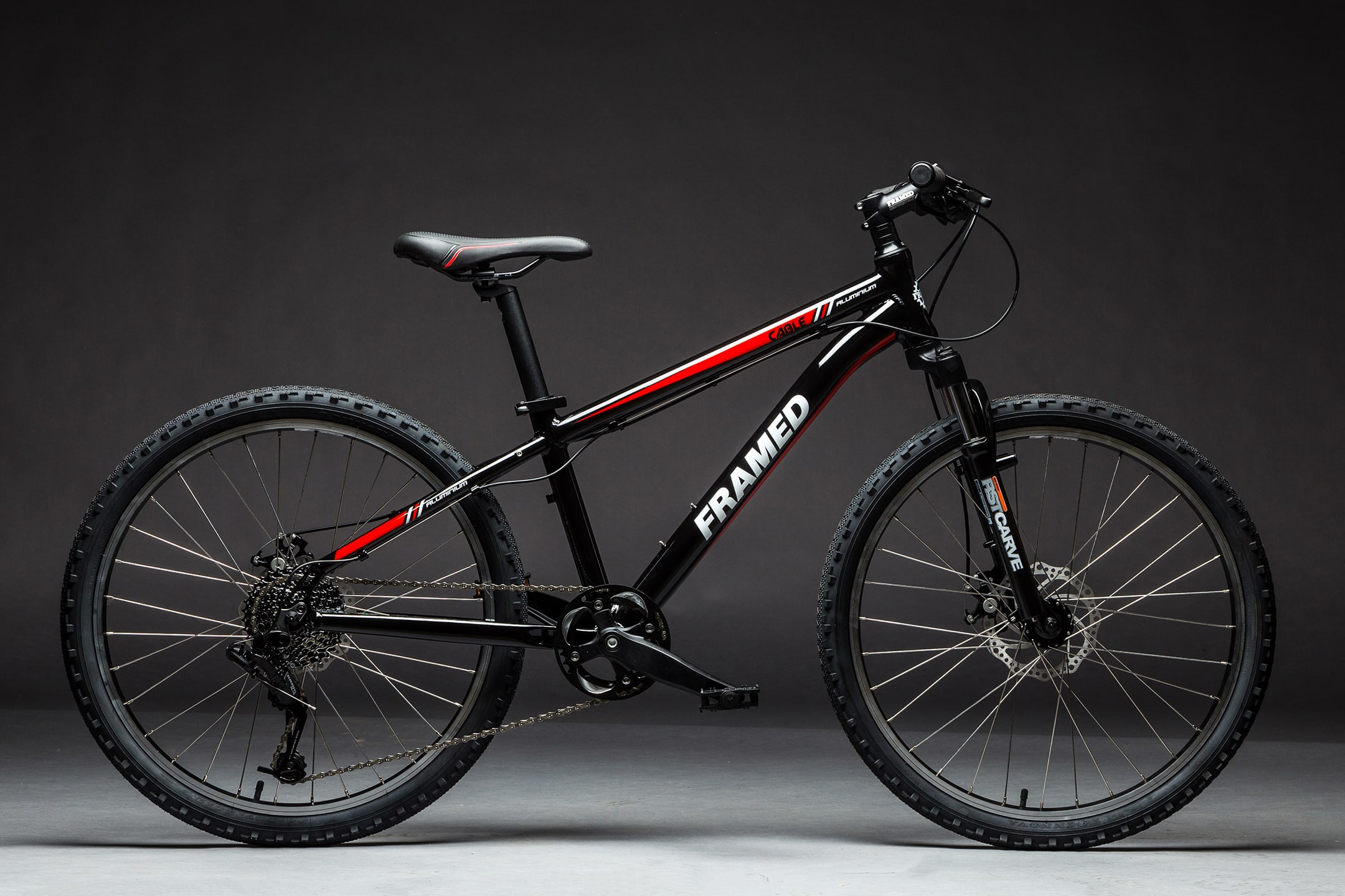 Framed Cable 24 w/ RST Fork Mountain Bike - Kids, Youth