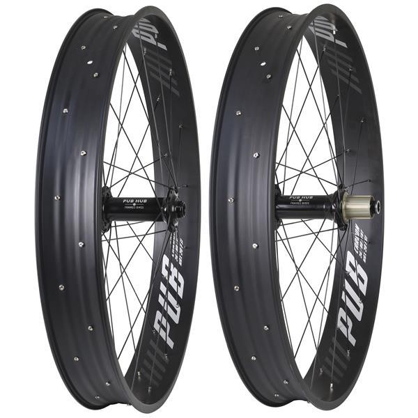 Pub Carbon Pro-X 150mm/197mm HG Wheel Set