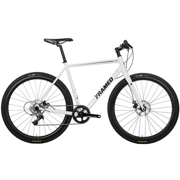 Framed Course Alloy Flat Bar Bike - Rival 22 & Carbon Wheels