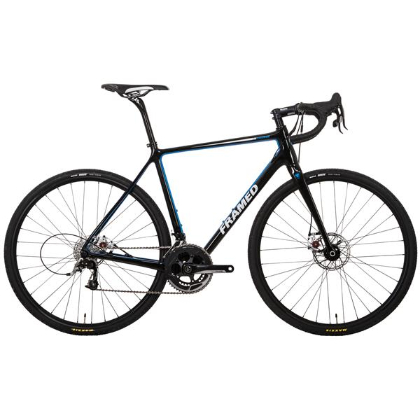 Framed Course Carbon Cyclocross Bike - Rival 22 & Alloy Wheels