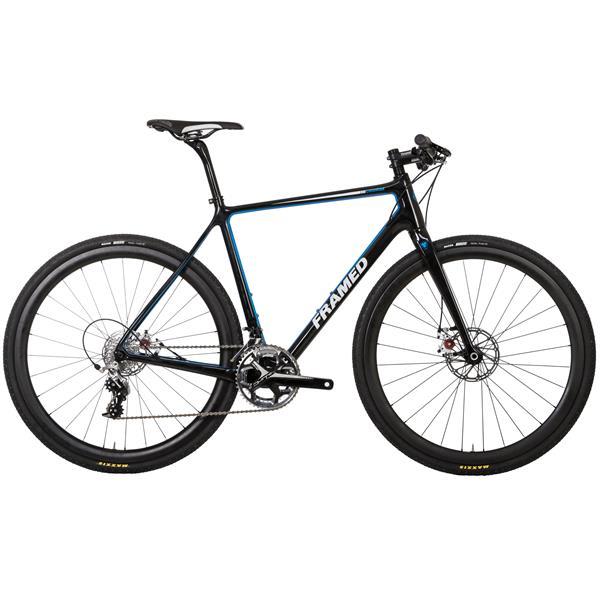 Framed Course Carbon Flat Bar Bike w/ Rival 22 & Carbon Wheels