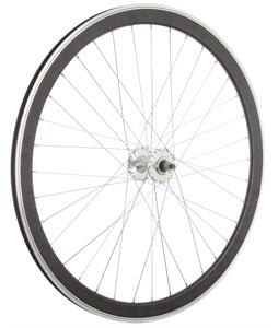 Framed Deep V Front Bike Wheel Black 700C