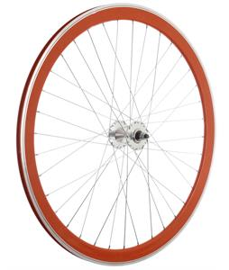 Framed Deep V Front Bike Wheel Orange 700C