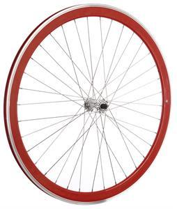 Framed Deep V Front Bike Wheel Red 700C