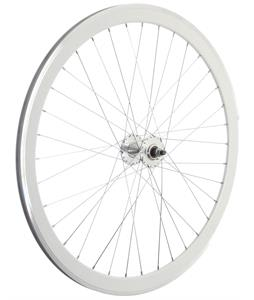 Framed Deep V Front Bike Wheel White 700C