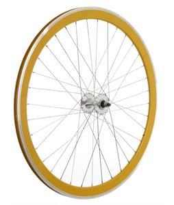 Framed Deep V Front Bike Wheel Yellow 700C