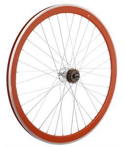 Framed Deep V Rear Bike Wheel Orange 700C