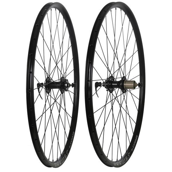 Framed Alloy Disc QR Road Wheelset