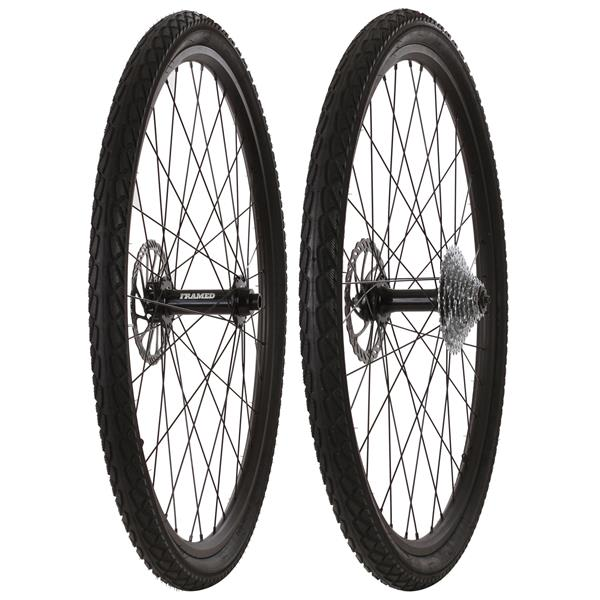 Framed Fattie Slims/Slicks F150/R170 10 Speed Wheel Set