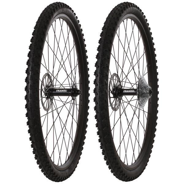 Framed Fattie Slims/Trail F150/R170 10 Speed Wheel Set